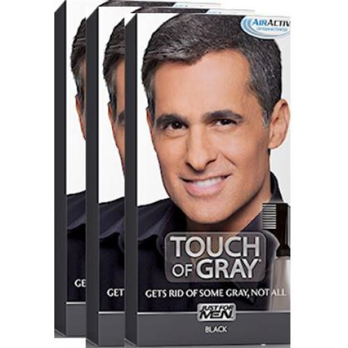 Just for Men - PACK 3 COLORATIONS CHEVEUX - Gris Noir - Toutes les Promos