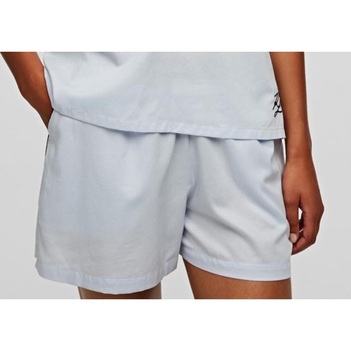 Bas de Pyjama Short Blanc - Karl Lagerfeld - Modalova