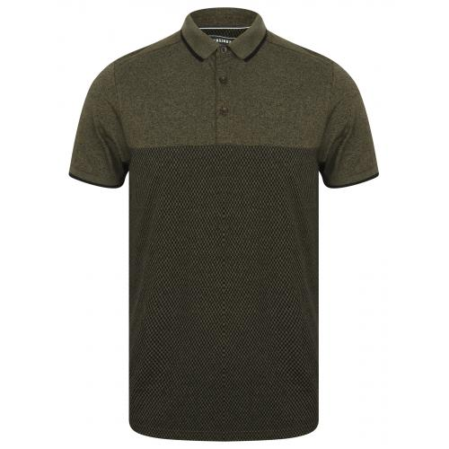 Kensington - Polo uni bicolore - Promos vêtements homme