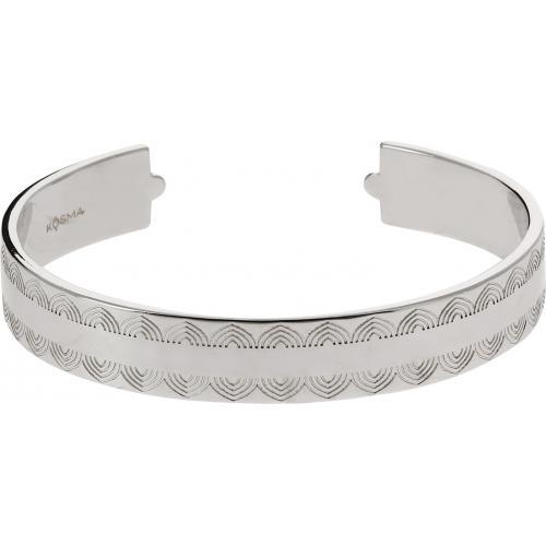 Bracelet Jonc Kosma Paris - Collection Ella Argenté