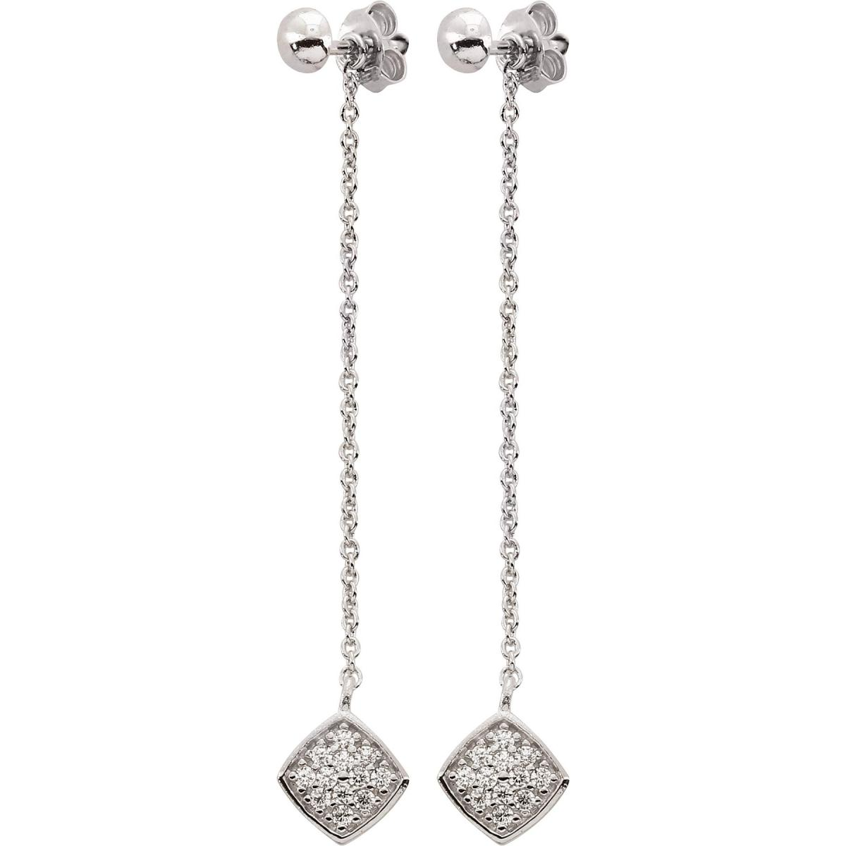 Boucles d'oreilles Kosma Paris - Collection Ella Argenté