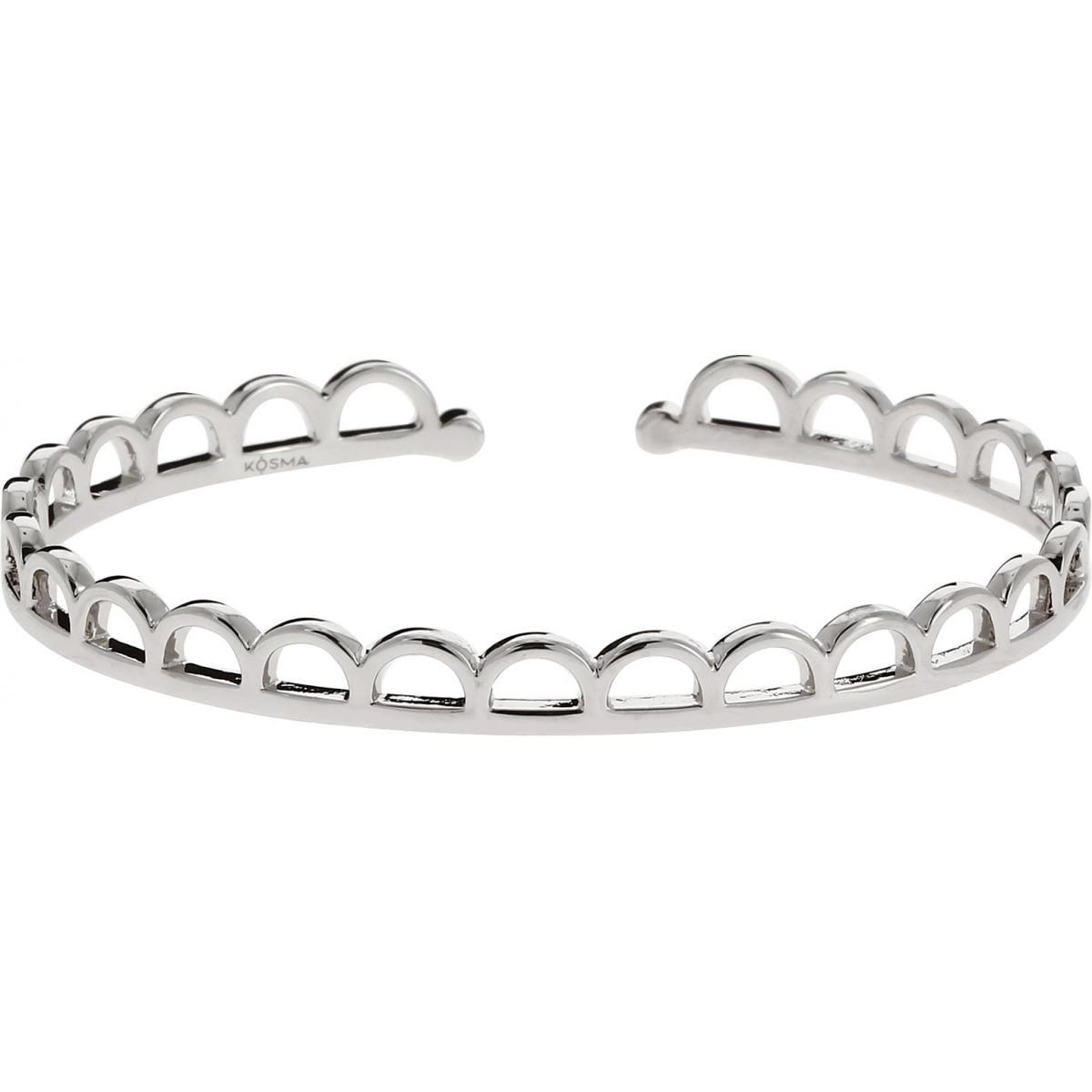 Bracelet Jonc Kosma Paris - Collection Stella Argenté