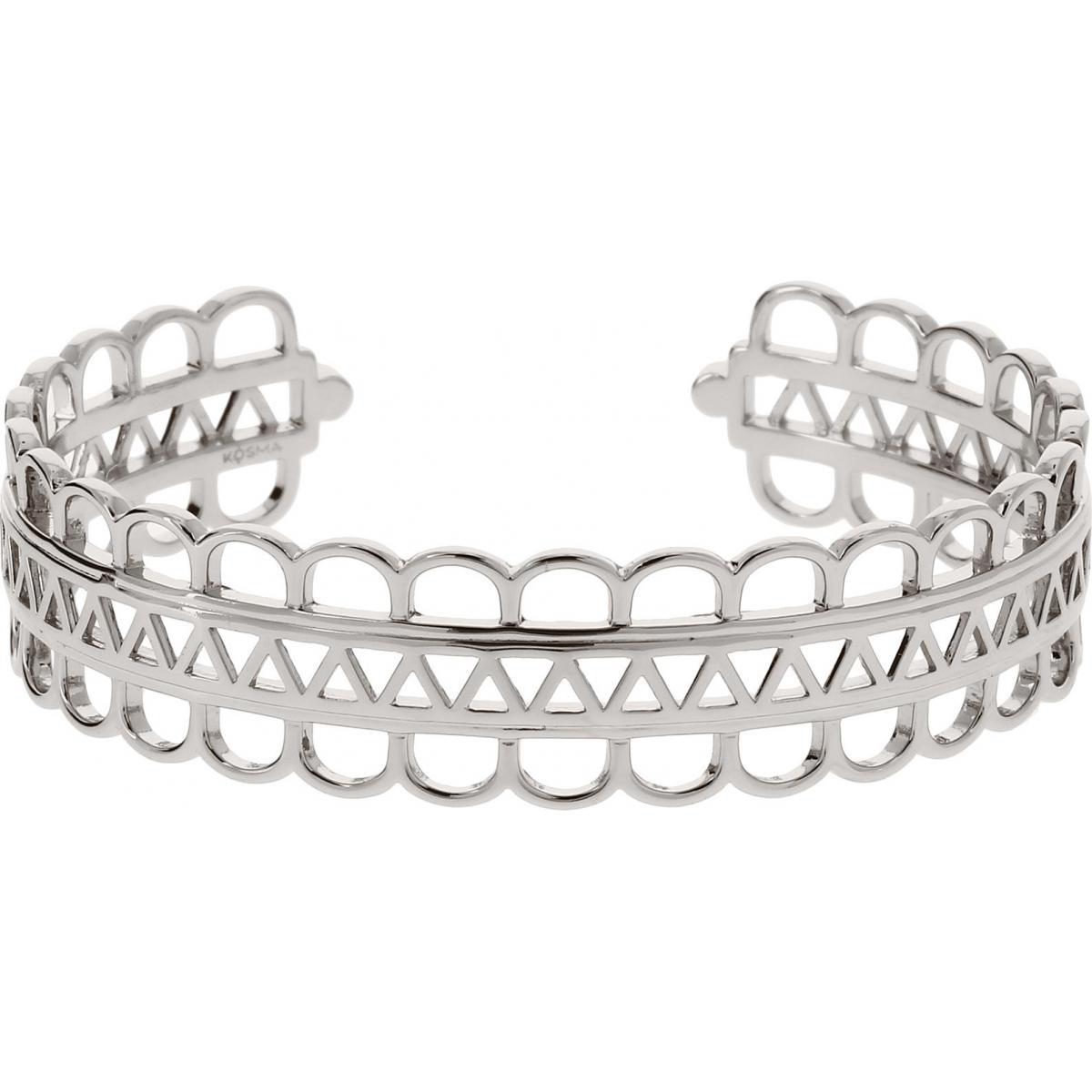 Bracelet Manchette Kosma Paris - Collection Stella Argenté
