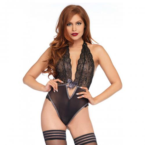 Leg Avenue - Body string decollete en V - Lingerie femme