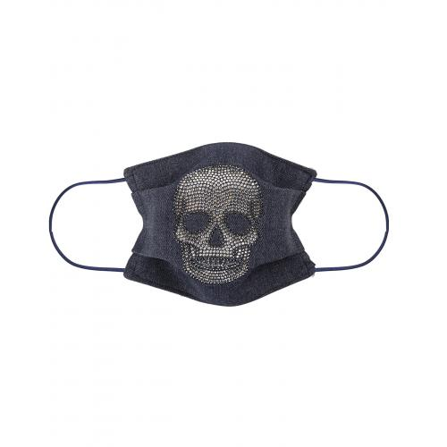 Les Interchangeables - Masque Anti Projection Motif Tete De Mort - Masques de protection
