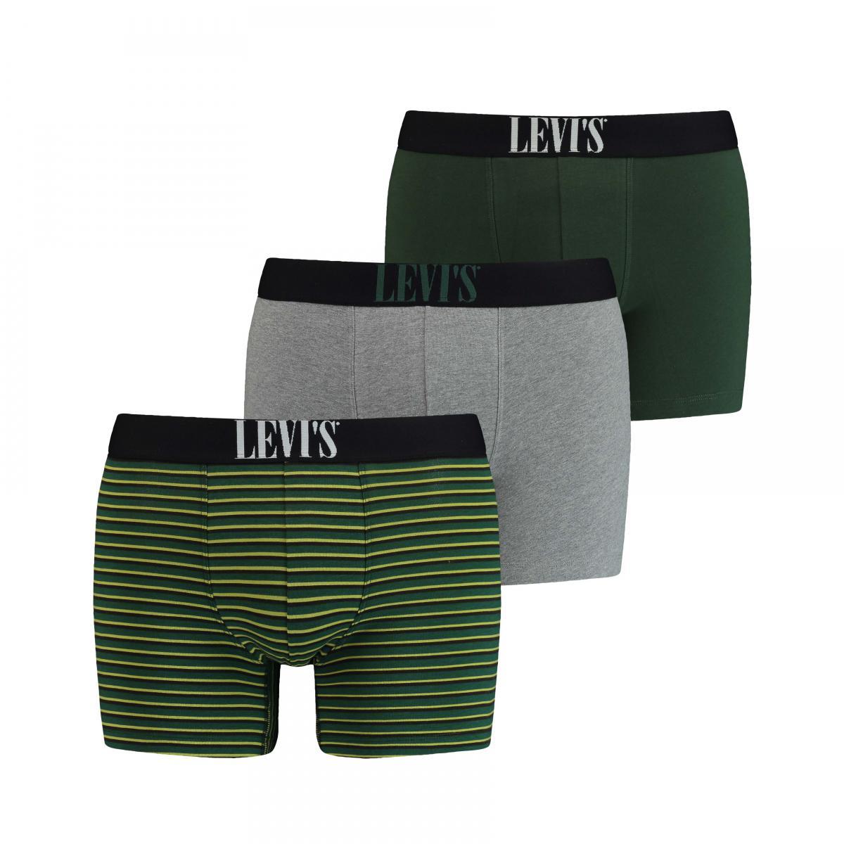 Promo : Pack de 3 boxers Vert - Levi?s Underwear - Levi's Underwear - Modalova