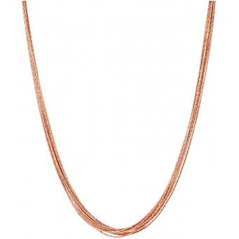 Collier et pendentif Links of London 5020-3374 - Collier et pendentif Essentials 10 rangs en Vermeil Or Rose 45 cm Femme Links of London Femme