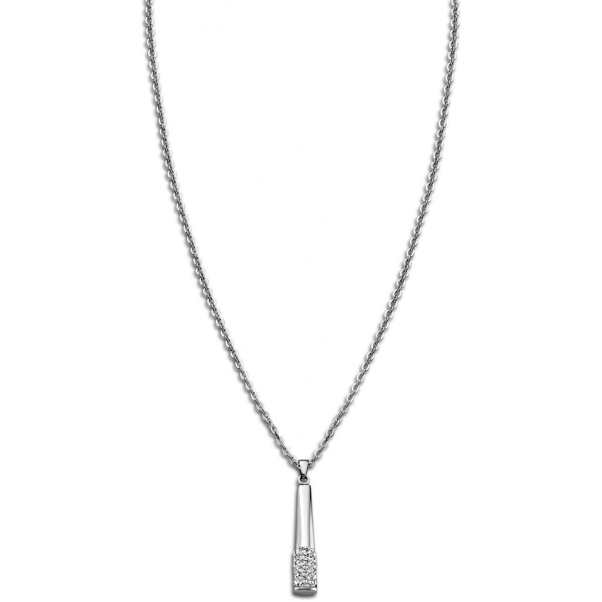 Collier et pendentif Rainbow LS1767-1-1 - Collier et pendentif Cristaux Acier Pendentif - 3 suisses - Modalova