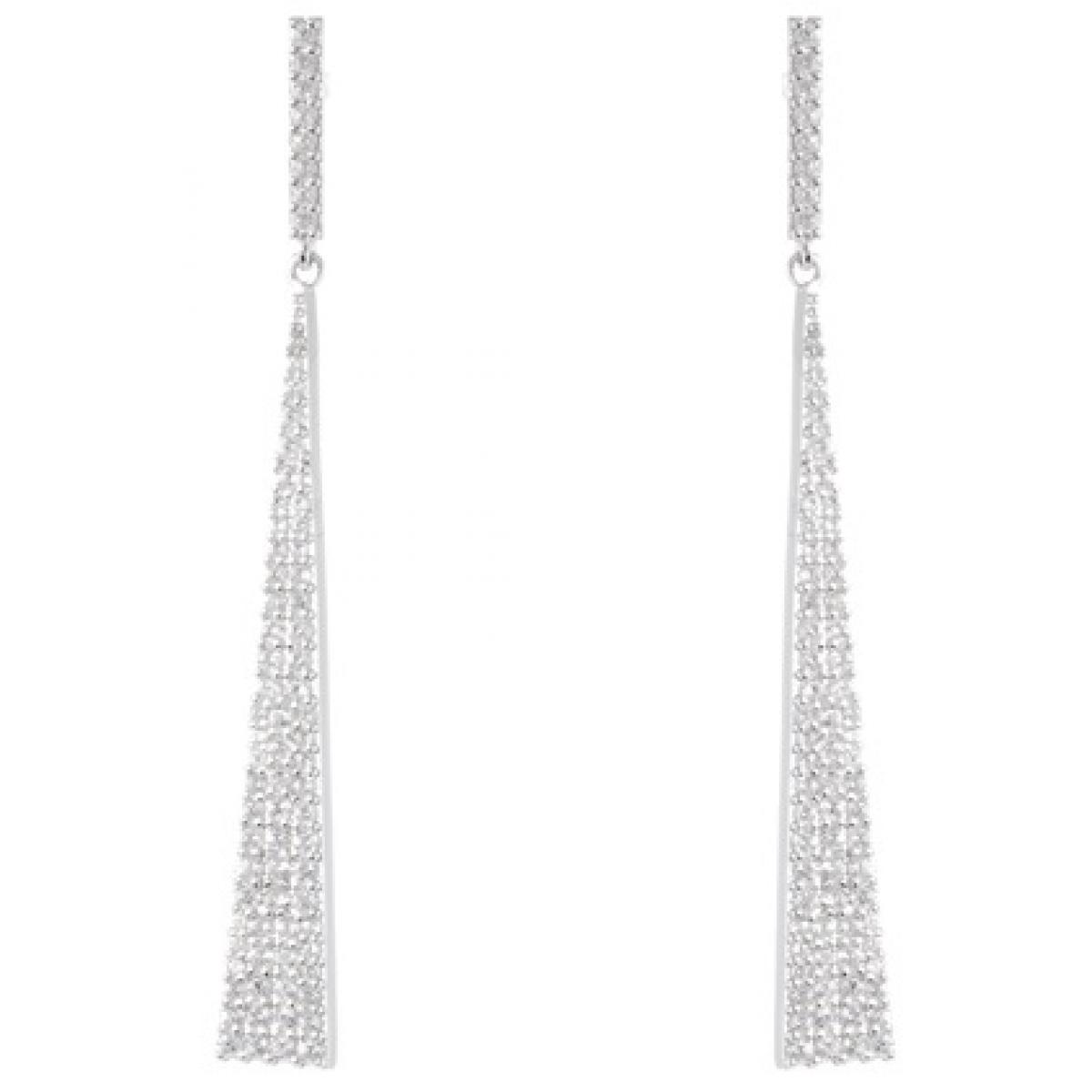 Boucles d'oreilles Luxenter ET17500 - Boucles d'oreilles Argent Oxyde de Zirconium Femme