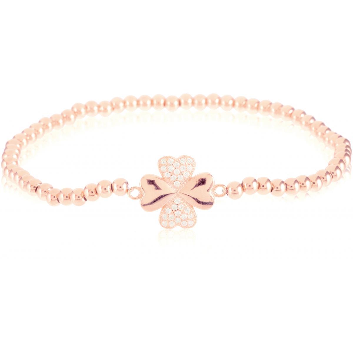 Bracelet Luxenter BH008R00 - Bracelet Trefle Rose Femme