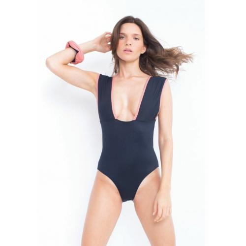 Luz Collection - Maillot de bain une pièce sans armatures EVA Noir - Luz Collection - Lingerie responsable