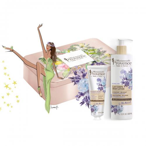 Mademoiselle Provence - Coffret écrin rituel NATURELLE relaxation - Soins corps femme
