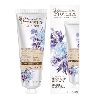 Mademoiselle Provence - Crème mains 96,4% NATURELLE relaxante - Soins corps