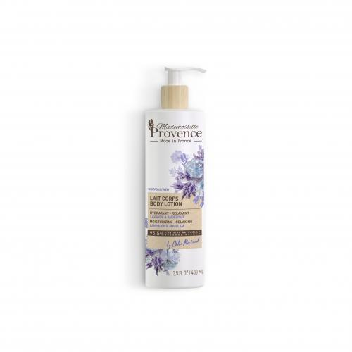 Mademoiselle Provence - Lait corps 95,5% NATUREL hydratant et relaxant - Soins corps