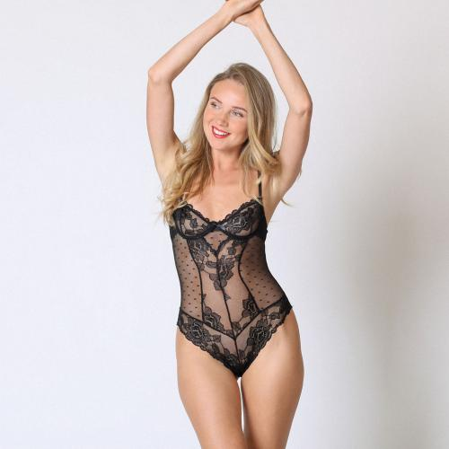 Midnight Lingerie - Body dentelle - Bodies