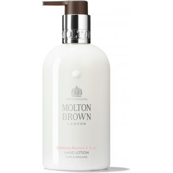 Molton Brown - LAIT MAIN DELICIOUS RHUBARB & ROSE-300ML - Beauté