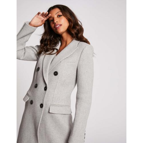 Morgan - Manteau droit boutonné - Manteau