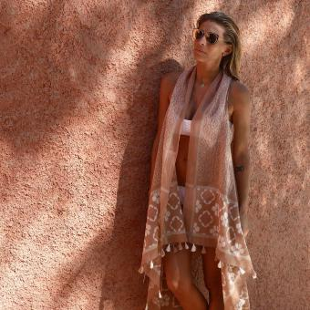 Navayo - Pink sand - Pareo - Les accessoires