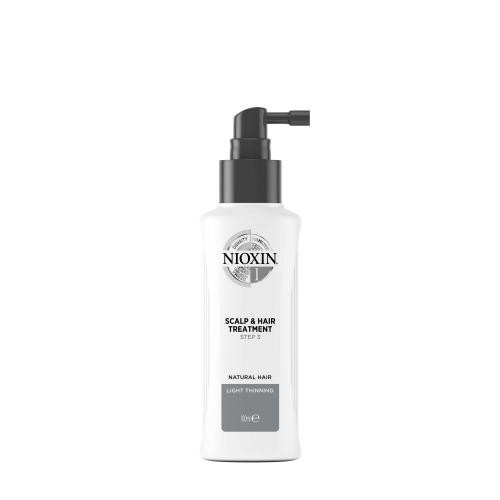 Nioxin - Soin System 1 - Cuir chevelu & cheveux normaux à fins - Soins homme