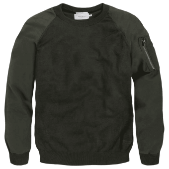 Pepe Jeans - Pull Bi-matière Homme Pepe Jeans
