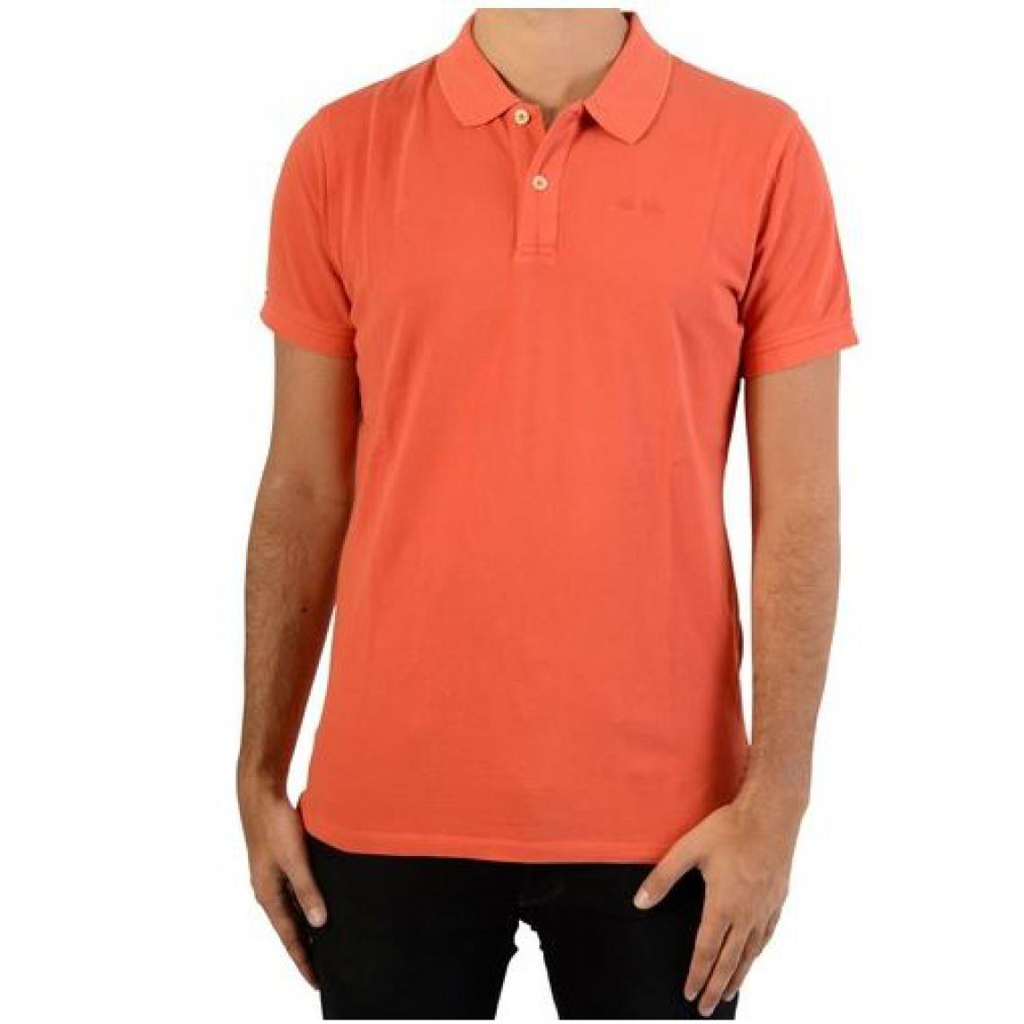 9de08c1449673 Polo manches courtes orange Pepe Jeans homme Pepe Jeans Homme