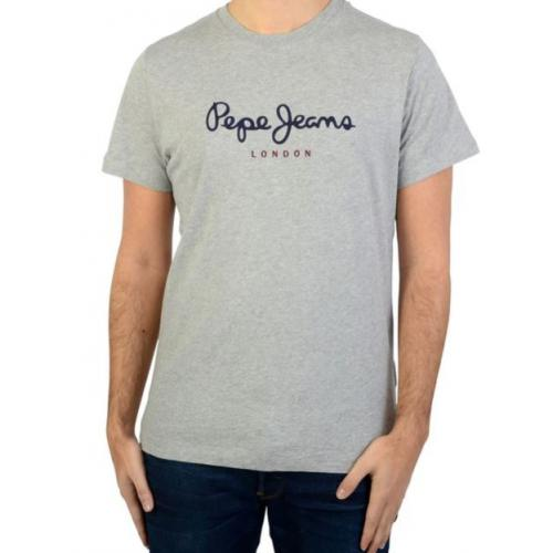 Pepe Jeans - Tee-shirt manches courtes gris homme Pepe Jeans - T-shirt / Polo