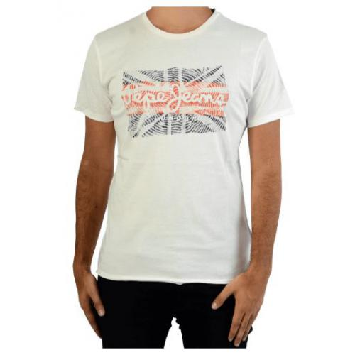 Pepe Jeans - Tee-shirt manches courtes imprimé UK homme Pepe jeans - T-shirt / Polo