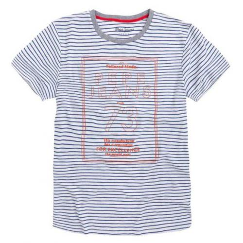 Pepe Jeans - Tee-shirt à rayures manches courtes Pepe Jeans homme - T-shirt / Polo