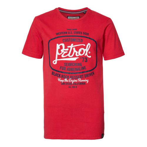 Petrol - T-shirt garçon rouge - T-shirt / Polo