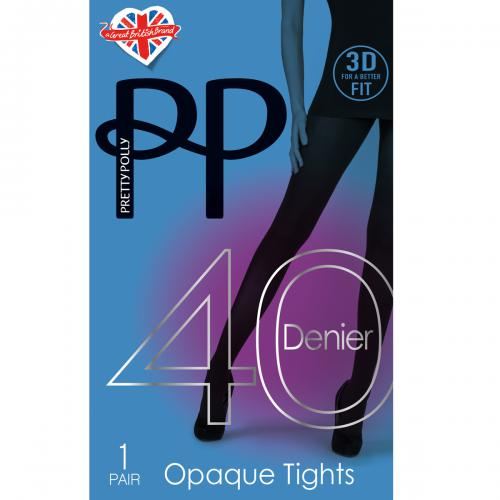 Pretty Polly - Collant opaque 40D - Chaussant