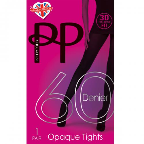 Pretty Polly - Collant opaque 60D - Pretty Polly lingerie