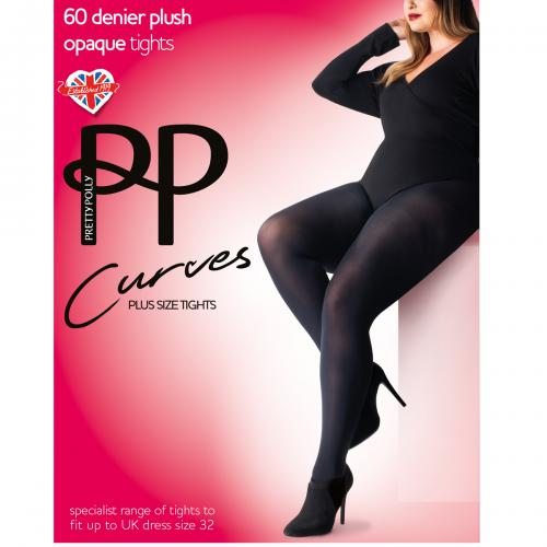 Pretty Polly - Collant opaque 60D - Chaussant
