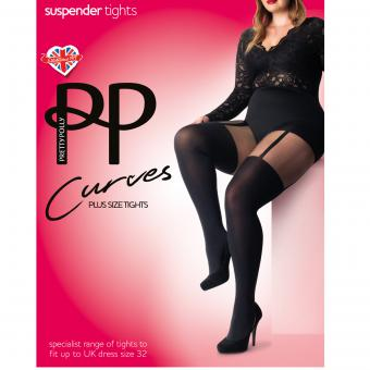 Pretty Polly - Collant effet jarretelles - La lingerie