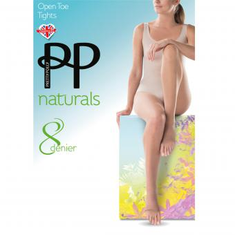 Pretty Polly - Collant ouvert 8D - Chaussant
