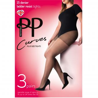 Pretty Polly - Lot de 3 paires de collants 15D - La lingerie
