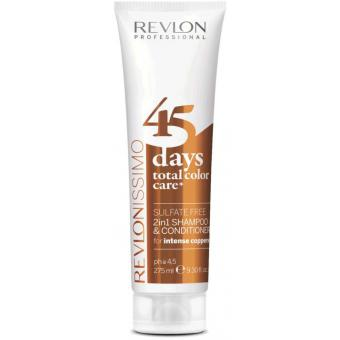 Revlon Professional - Color Care 45 Days Shampoing et Soin Intense Coppers - Beauté femme