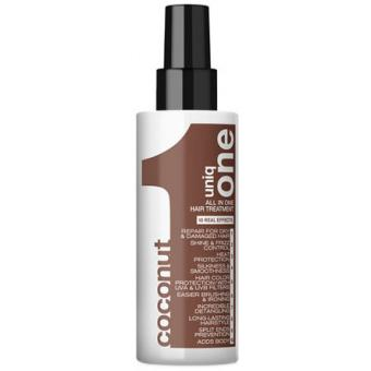 Revlon Professional - UNIQ ONE HAIR TREATMENT ALL IN ONE SPRAY CCONUT Soin Capillaire tout en un noix de Coco - Soins cheveux