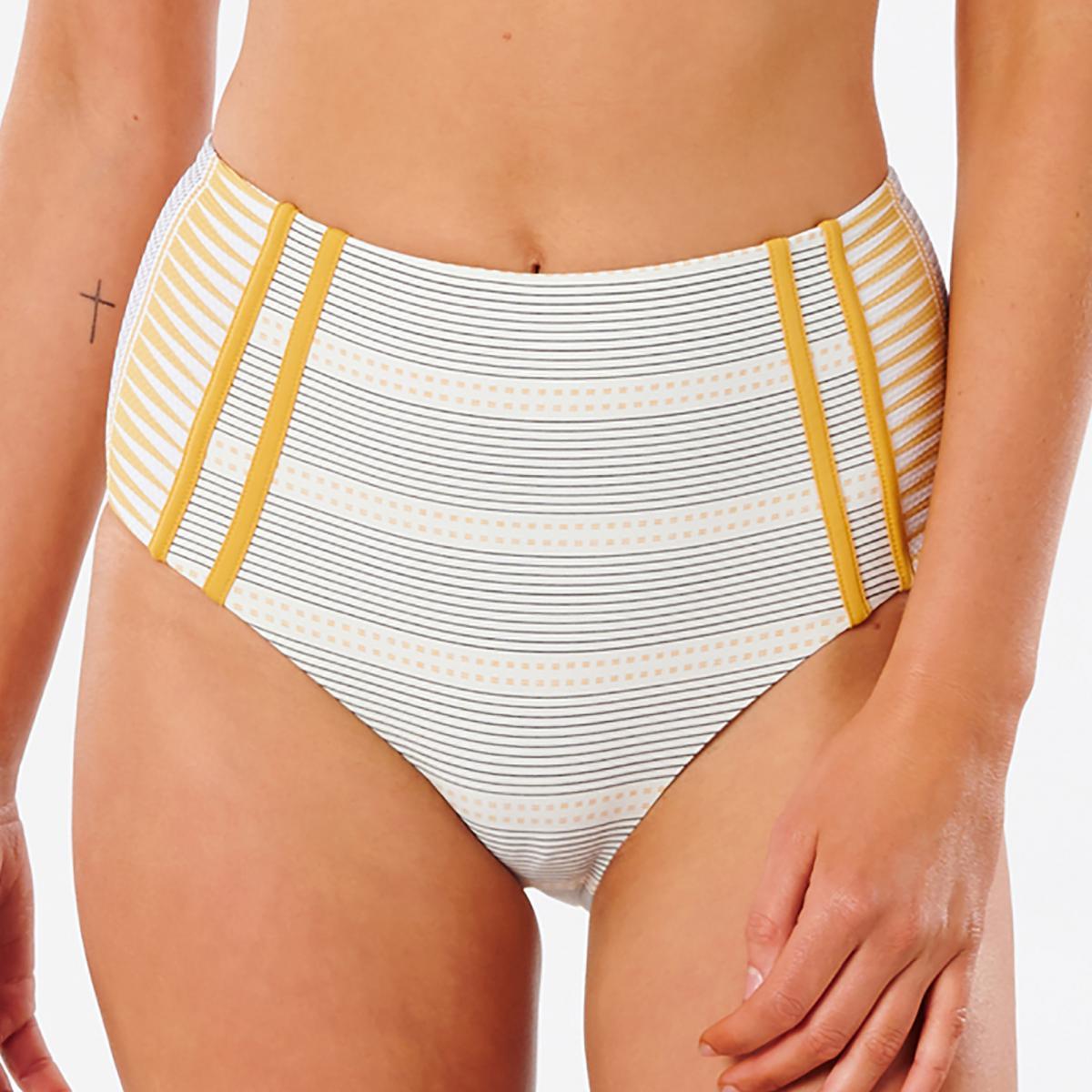 Bas de Maillot de Bain Slip Taille Haute Beige - Rip Curl - Modalova
