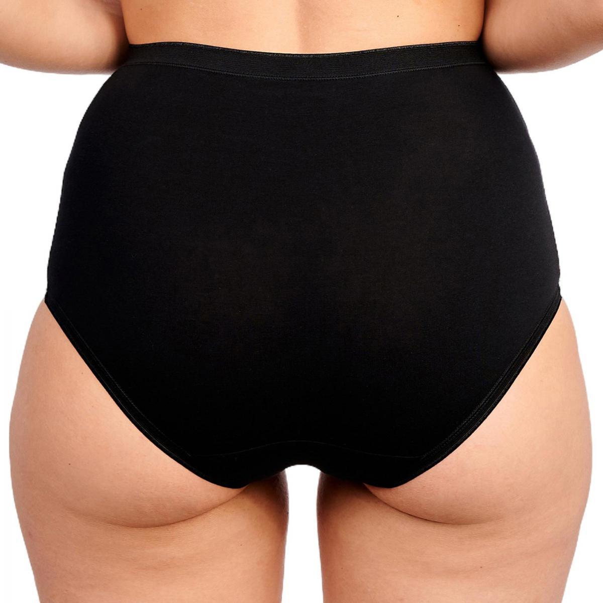 Sans Complexe Culotte Taille Haute Femme Lot de 3