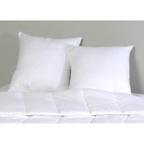 doux et confortable en pur coton 40 x 80 cm blanc lavable en machine et passe au s/èche-linge 40 x 80 cm Traumnacht 03770377108 oreiller 5 /étoiles
