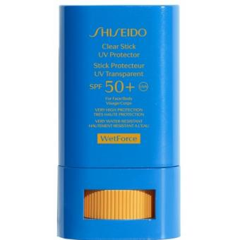 Shiseido - Wetforce Clear Stick Protection UV SPF50+ - Beauté femme