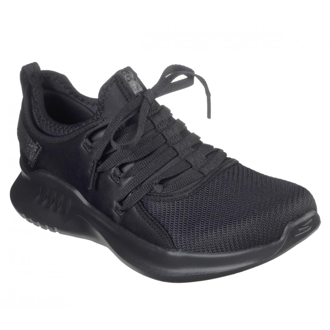 Promo : Baskets Basses Femme Noir - Skechers - Modalova