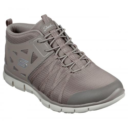 Skechers - Baskets Taupe  - Promo