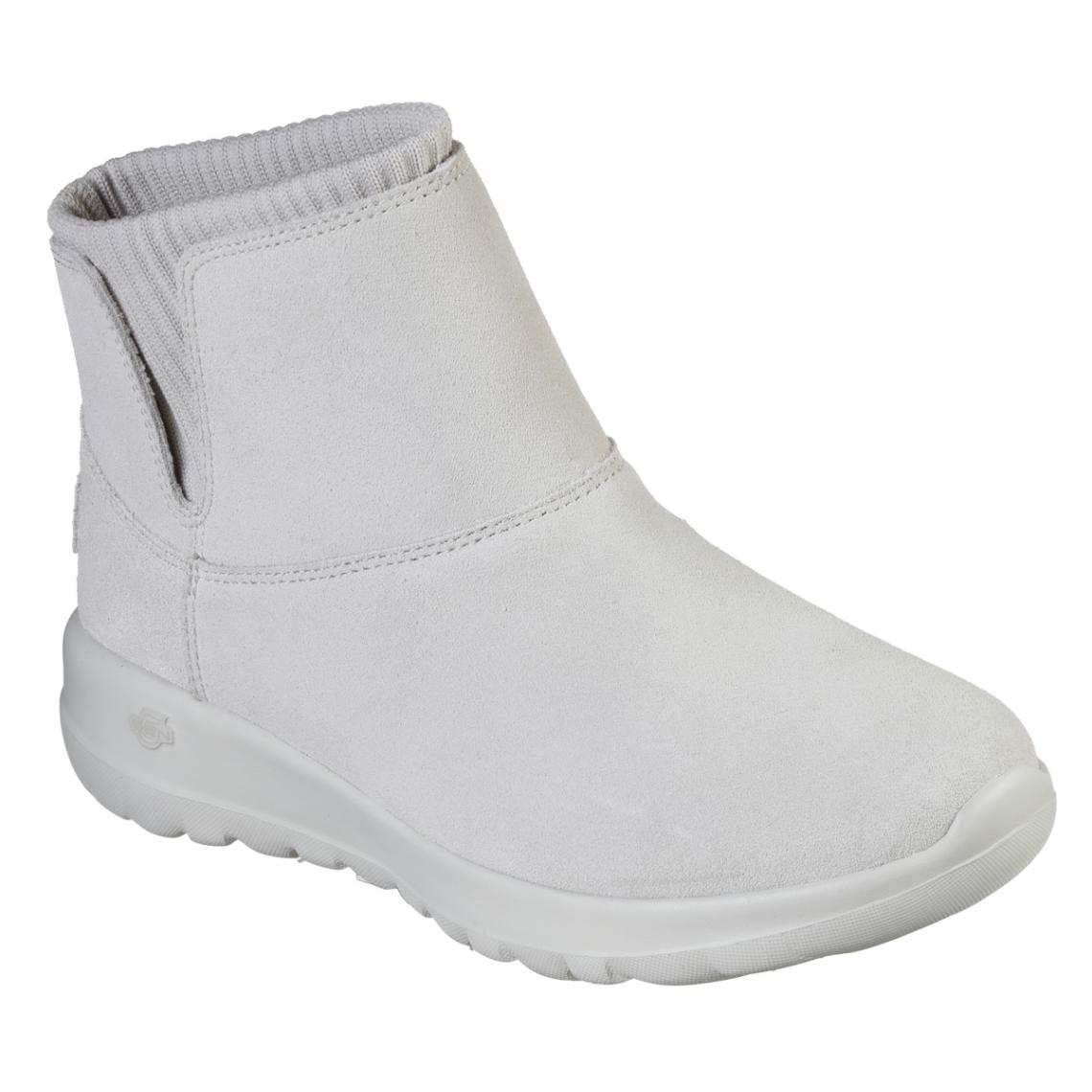 Promo : Boots Femme Naturel - Skechers - Modalova