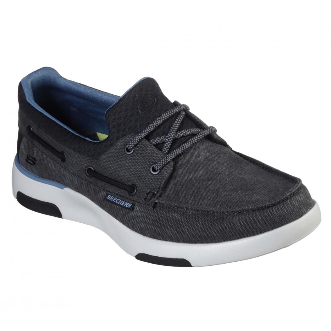 Promo : chaussures basses Noir bellinger garmo - Skechers - Modalova