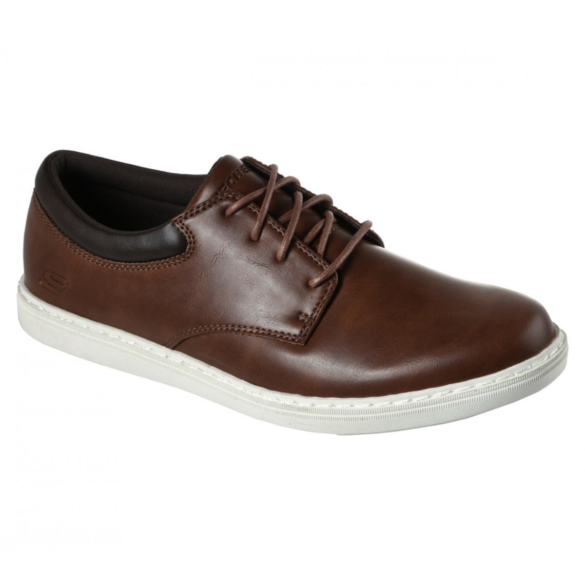 Promo : Chaussures Basses Marron - Skechers - Modalova