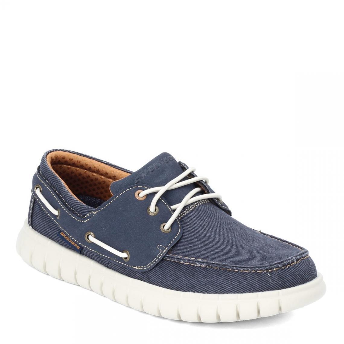 Promo : Chaussures Basses Marine - Moreway - Skechers - Modalova