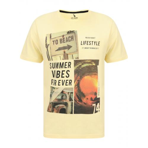 South Shore - TEE SHIRT PRINTE - Promos vêtements homme