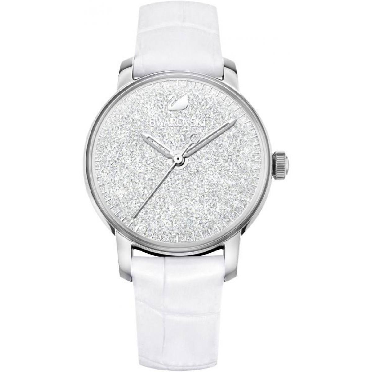 Montre Swarovski 5295383 - Montre Cristaux Swarovski Cuir - Swarovski montres - Modalova