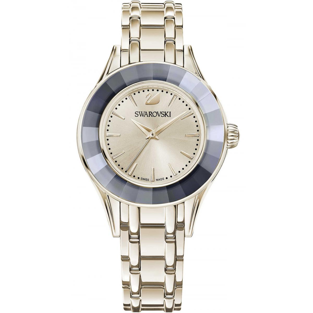 Montre Swarovski 5368924 - Alegria Crystal Silver Night - Swarovski montres - Modalova